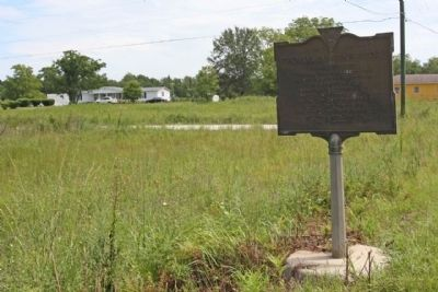 Thomas Sumter's Store Marker, near Nicholas Drive image. Click for full size.