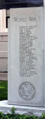 Left Panel - Jefferson County War Memorial image. Click for full size.