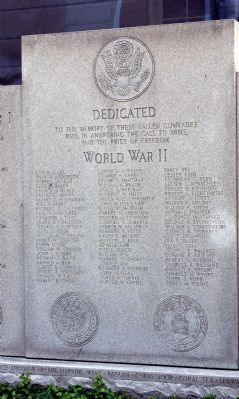 Full Middle Panel - Jefferson County War Memorial image. Click for full size.