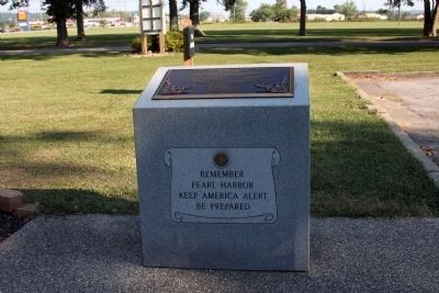 "The ""Dedication"" Memorial & Plaque Photo, Click for full size"