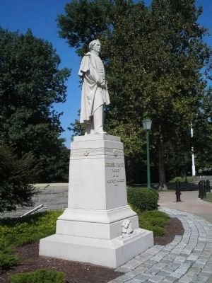 Sylvanus Thayer Monument image. Click for full size.