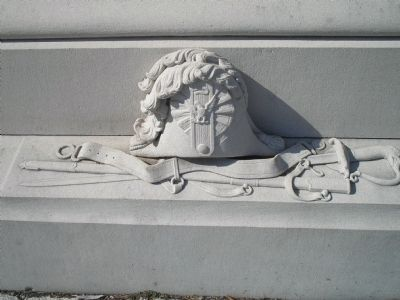 Detail of Thayer Monument image. Click for full size.