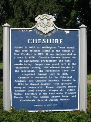 Cheshire Marker [front] image. Click for full size.
