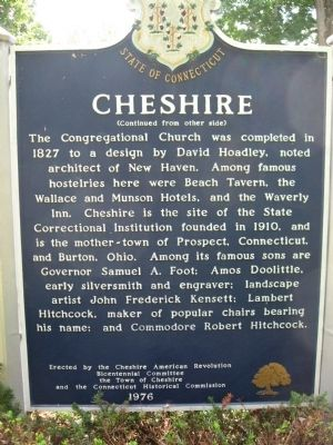 Cheshire Marker [back] image. Click for full size.