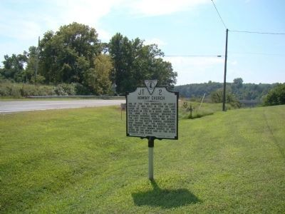 Nominy Church Marker Photo, Click for full size