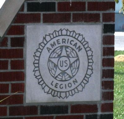 """American Legion"" Stone - - On Right Panel ""End"" . image. Click for full size."