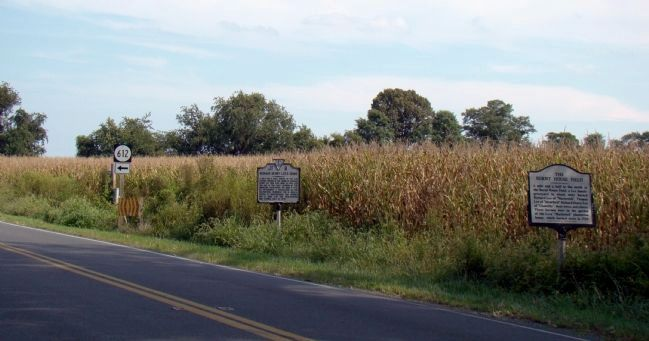 Two Markers on Route 202 at Route 612 North image. Click for full size.