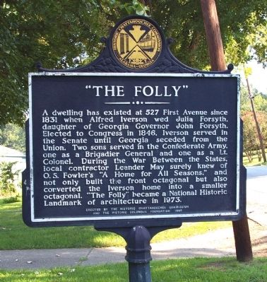 """The Folly"" Marker image. Click for full size."
