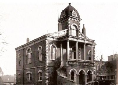 Second Greenville County Courthouse -<br>Later Known as the Old Record Building Photo, Click for full size