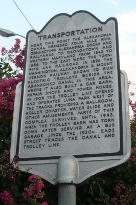 Transportation Marker Photo, Click for full size