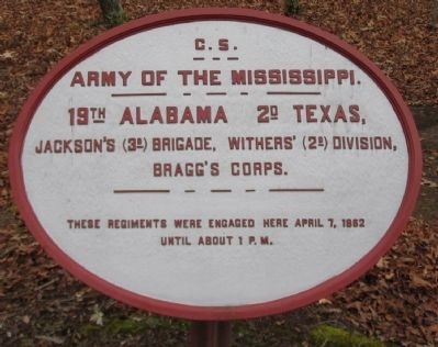 19th Alabama - 2nd Texas Tablet image. Click for full size.