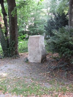 Miesbach to Munich PowerTransmission Marker - Wide Shot Photo, Click for full size