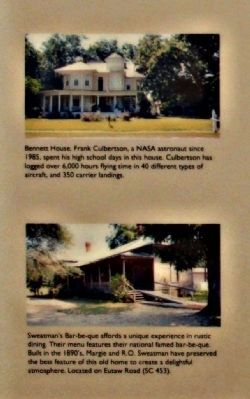 Bennett House and Sweatman's Bar-be-que Photo, Click for full size