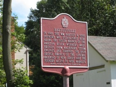 Bartleyville Marker image. Click for full size.