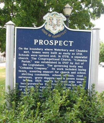 Prospect Marker [ front ] image. Click for full size.