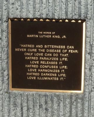 The Words of Martin Luther King, Jr. image. Click for full size.