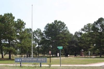 Marker is a part of Walterboro Army Airfield Memorial Park Photo, Click for full size