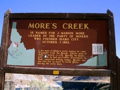 More's Creek Marker image. Click for full size.