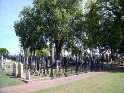 Confederate Soldiers Section image. Click for full size.