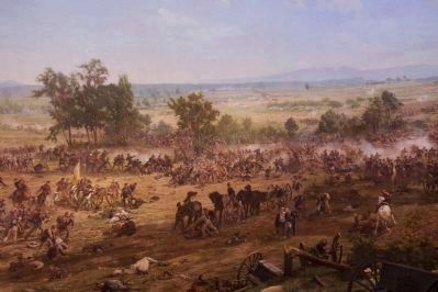 High Water Mark from the Cyclorama Photo, Click for full size