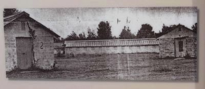 These former Walterboro Army Airfield barracks are similar to those POWs image. Click for full size.