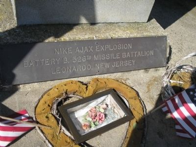 Nike Ajax Explosion Memorial Photo, Click for full size
