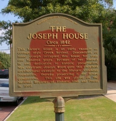 The Joseph House Marker image. Click for full size.