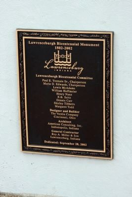Plaque - - Bicentennial Committee image. Click for full size.