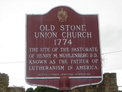 Old Stone Union Church Marker image. Click for full size.