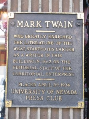 (Second) MarkTwain Marker image. Click for full size.