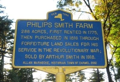 Philips Smith Farm Marker image. Click for full size.