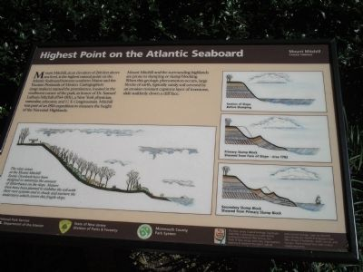 Highest Point on the Atlantic Seaboard Marker Photo, Click for full size