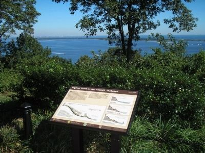 Marker in Atlantic Highlands Photo, Click for full size