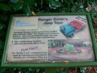 Ranger Smith's Jeep Tour Marker image. Click for full size.