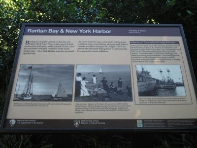 Raritan Bay & New York Harbor Marker image. Click for full size.