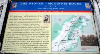 The Stover - McGinnis House Marker image. Click for full size.
