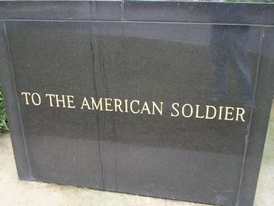 To the American Soldier Marker Photo, Click for full size