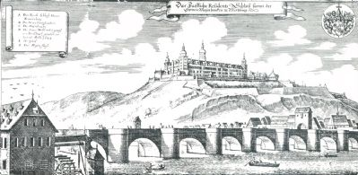 The Mill, the Old Main Bridge, and the Marienberg Fortress image. Click for full size.