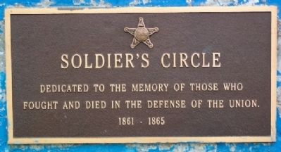 Soldier's Circle Marker image. Click for full size.