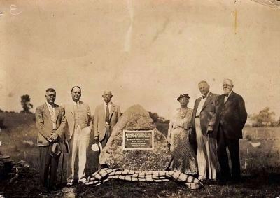 Hambletonian birthplace celebration and dedication of monument. image. Click for full size.