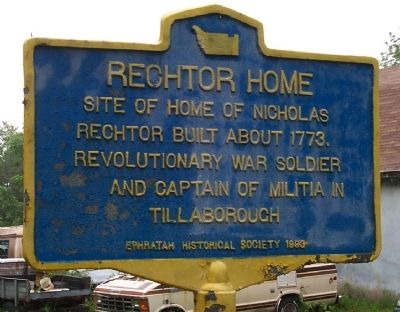 Rechtor Home Marker image. Click for full size.