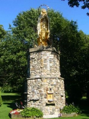 Saint Anne's Shrine: Mary, Our Lady of Lourdes Statue image. Click for full size.