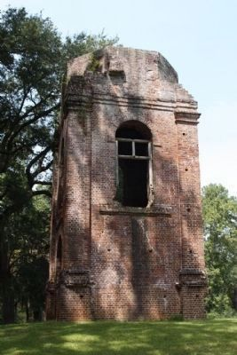 Parish Church of St. George, Bell tower south face Photo, Click for full size