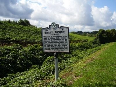Rocky Mount Marker image. Click for full size.