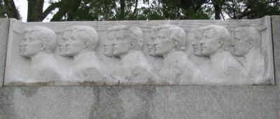 Relief on the Right Side of the Monument image. Click for full size.
