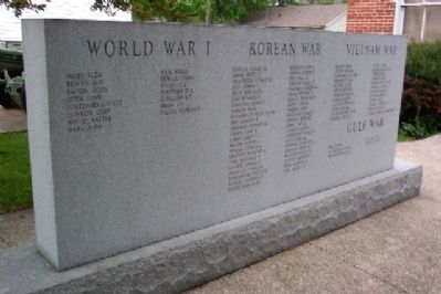 Waldo Township Veterans Memorial image. Click for full size.