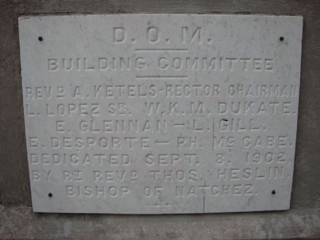 D.O.M. Building Committee image. Click for full size.