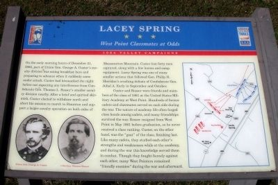 Lacey Spring CWT Marker Photo, Click for full size