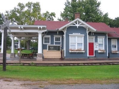 Nearby Fox Lake Historic Depot Museum image. Click for full size.