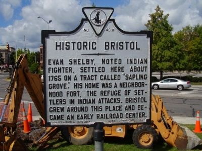 Historic Bristol Marker image. Click for full size.